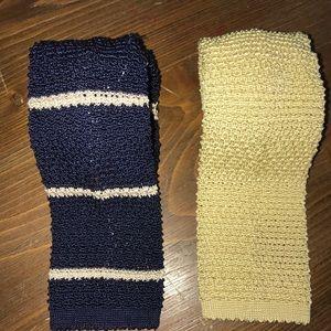 Polo Ralph Lauren crochet ties